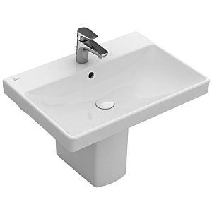 Villeroy & Boch Avento Waschtisch 415866R1 65 x 47 cm, weiss Ceramicplus, ohne Überlauf