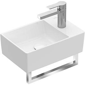 Villeroy & Boch Memento 2.0 Handwaschbecken  432340R1 40x26cm, 1 Hahnloch, ohne Überl., Weiß C+