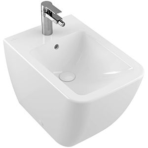 Villeroy and Boch Venticello stand Bidet 441200RW 56x37.5cm, stone white C-plus, with tap hole, with overflow