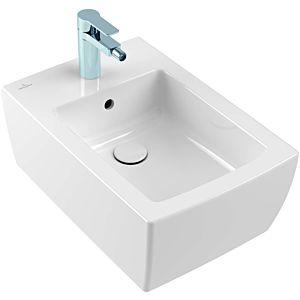 Villeroy & Boch Memento 2.0 Bidet 443300R1 mit Überlauf, wandhängend, Weiß CeramicPlus