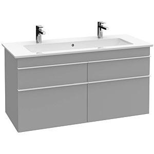 Villeroy und Boch Venticello Waschtisch-Unterschrank A92905FP 115,3 x 59 x 50,2 cm, Griff Copper, Glossy Grey