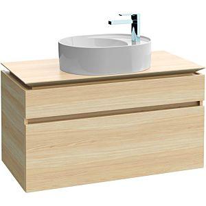 Villeroy & Boch Legato Waschtischunterschrank B77200E8 100x55x50cm, White Wood