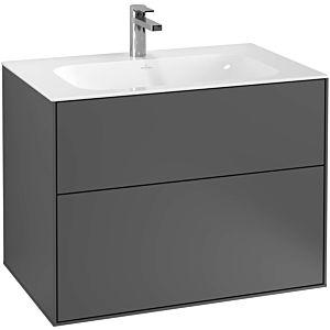 Villeroy and Boch Finion vanity unit F01000PC 79.6x59.1x49.8cm, Oak Veneer