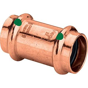 Viega Muffe Profipress 2415 15 mm, Kupfer, SC-Contur