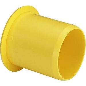 Viega Maxiplex tube de support 275495 20 mm, en plastique jaune, pour l' application de l' eau