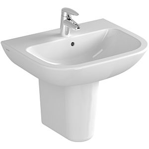 Vitra S20 Waschtisch 5502L003-0041 55 x 44 cm, weiß, ohne Überlauf/Hahnloch mittig