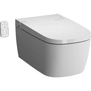 Vitra V-care shower wall washdown WC 5674B403-6196 white VC, with bidet function