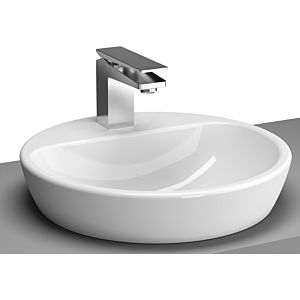 Vitra Metropole washbasin 5941B003-0937 44.5cm, round, ground, with tap hole, white, without overflow