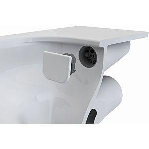 VitrA Bad Spülverteiler-Set flush 2.0 6394L0037300 Verteiler mit keramischen Aufsatz