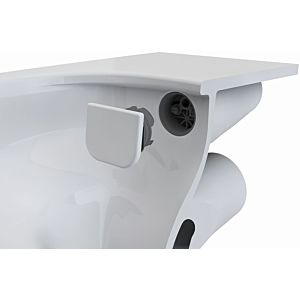 VitrA Bathroom Flush distributor set flush 2nd 1930 6394L0037300 Distributor with ceramic attachment