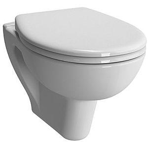Vitra S20 Wand-Tiefspül-WC 7641B403-0075 35,5x52cm, 3/6 l Spülvolumen, weiß VC, ohne Bidetfunktion