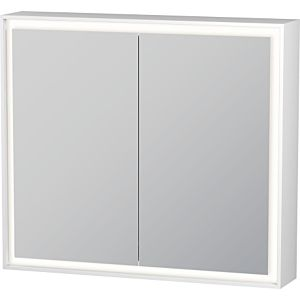 Duravit L-Cube Spiegelschrank LC755100000 80 x 70 x 15,4 cm, 40 Watt, 2 Türen