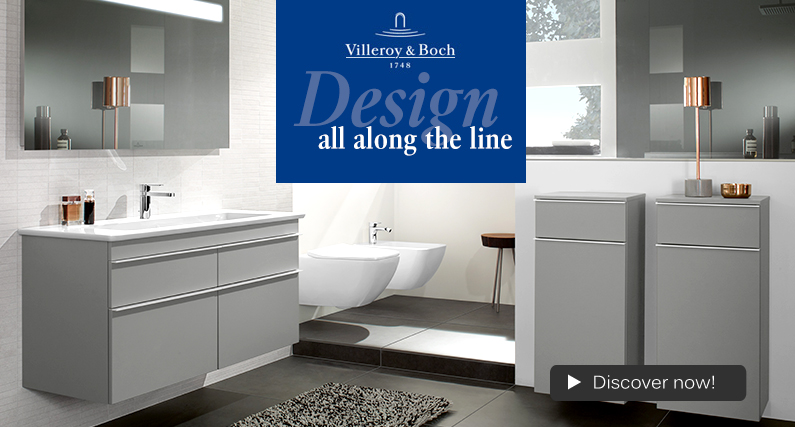 Villeroy and Boch Venticello basin, toilet, bidet