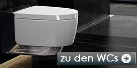 Marken Toiletten<br> in zahlreichen Ausführungen.