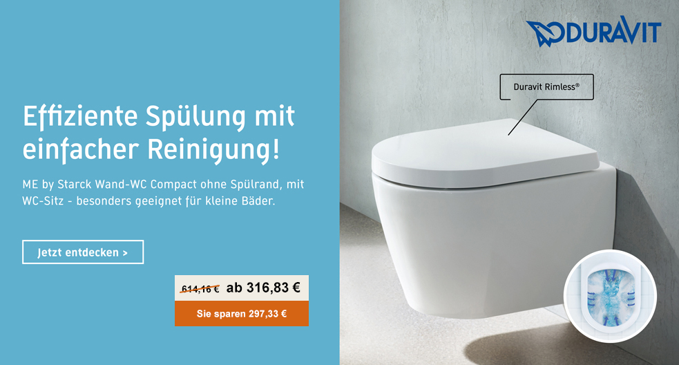 Duravit Me by Starck WC Rimless
