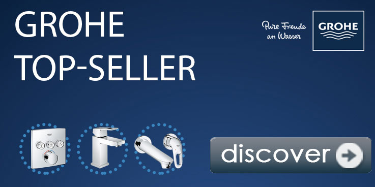 GROHE bestsellers – highlights for your bathroom.