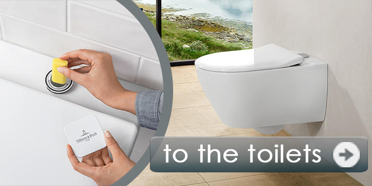 Subway 2.0 toilet with fresh solution from Villeroy & Boch.