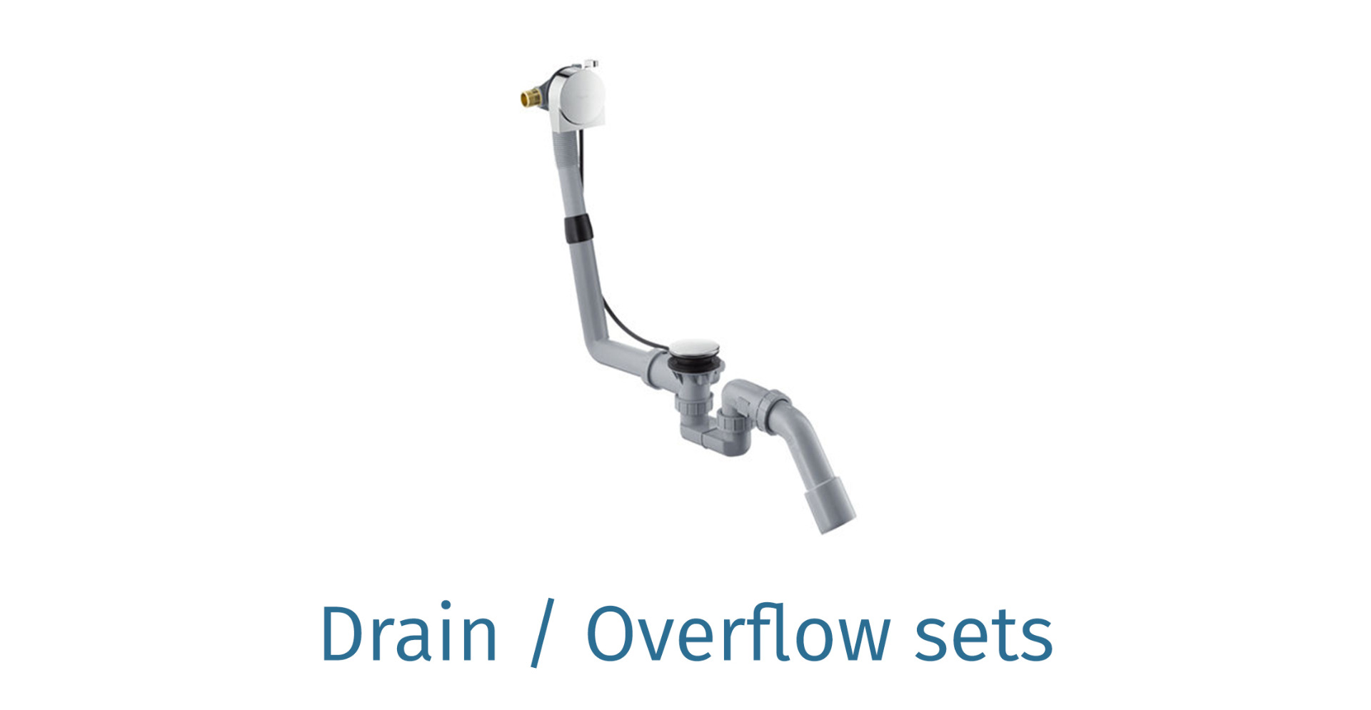 Drain overflow sets