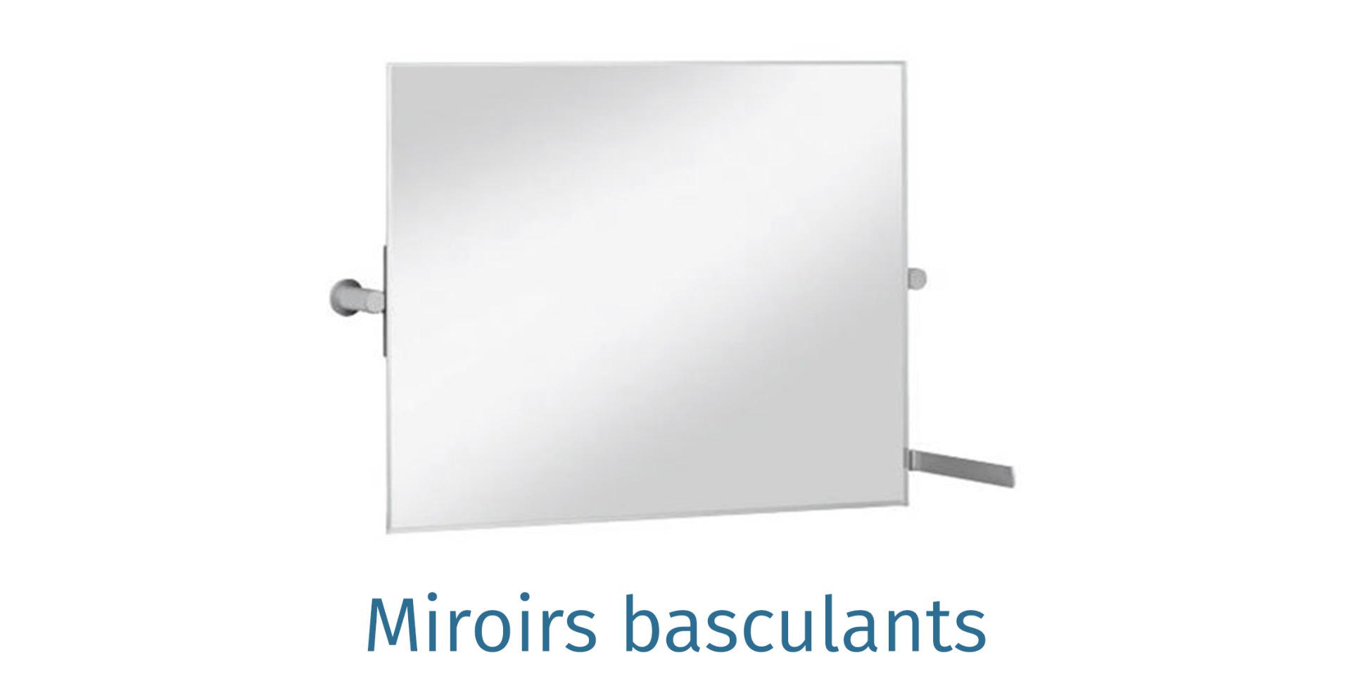 Miroirs basculants