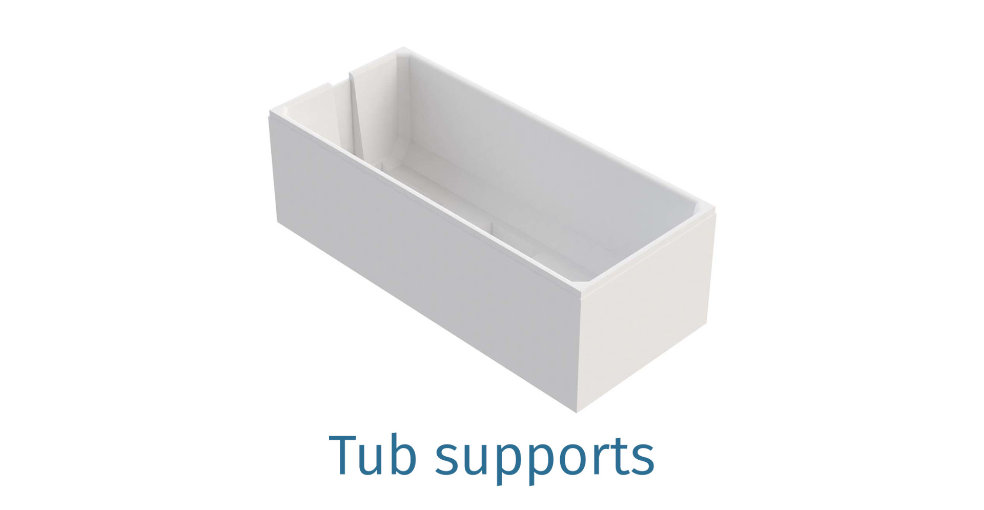 Tub supports
