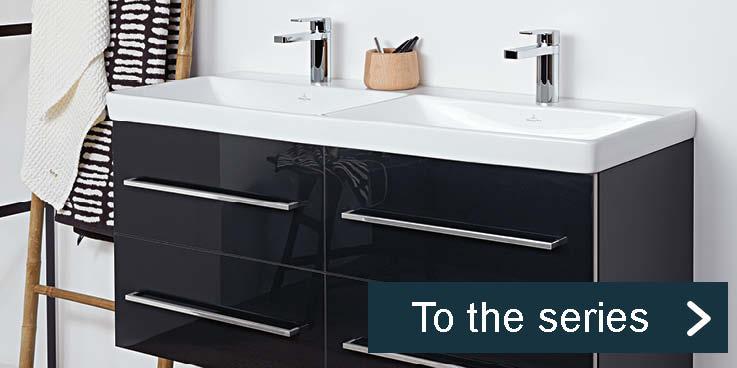 Avento –  Modern, lightweight design by Villeroy & Boch.